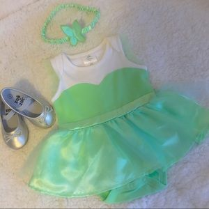 Disney Baby Tinkerbell Tulle One Piece Costume